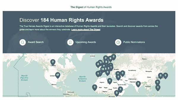 VISIT THE HUMAN RIGHTS AWARD DIGEST
